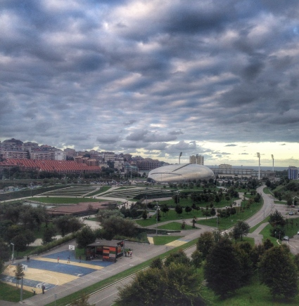 The view from the University of Cantabria