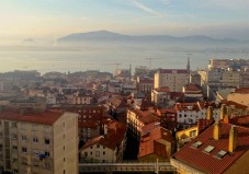 The Bay of Santander seen from the top of the Rio de la Pila Funicular.